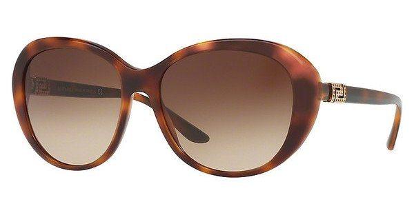 Versace Damen Sonnenbrille » VE4324B« in 521713 - braun/braun