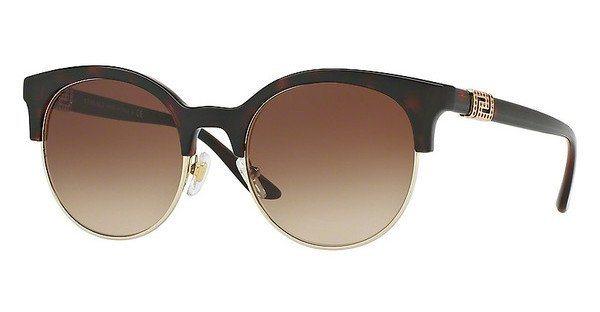 Versace Damen Sonnenbrille » VE4326B« in 521213 - braun/braun