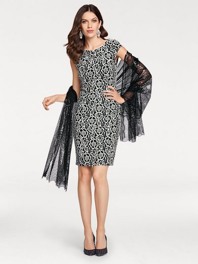 ASHLEY BROOKE by Heine Cocktailkleid Jacquard