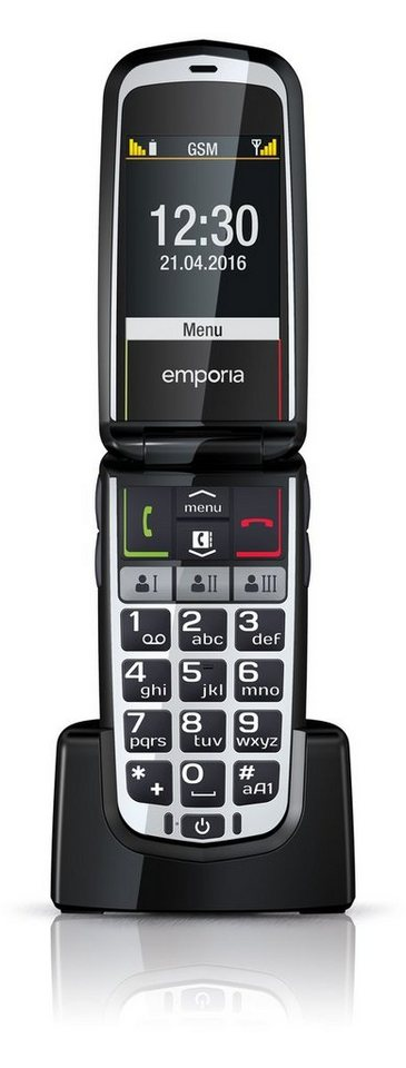 Emporia Handy »COMFORT« in Schwarz-Grau