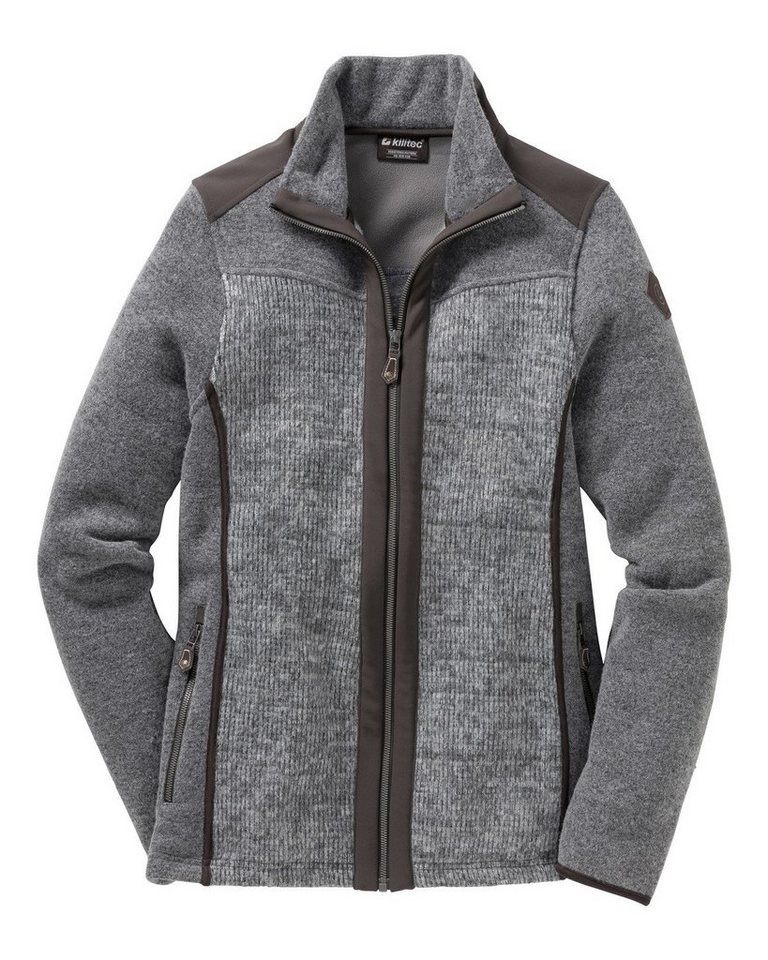 Killtec Strickjacke Florens in Grau