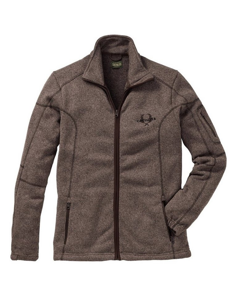Chevalier Fleecejacke Chester in Braun
