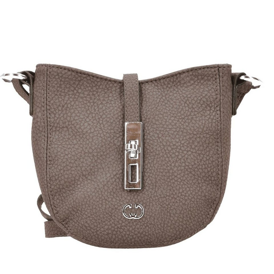 Gerry Weber Side by side Umhängetasche 19 cm in taupe