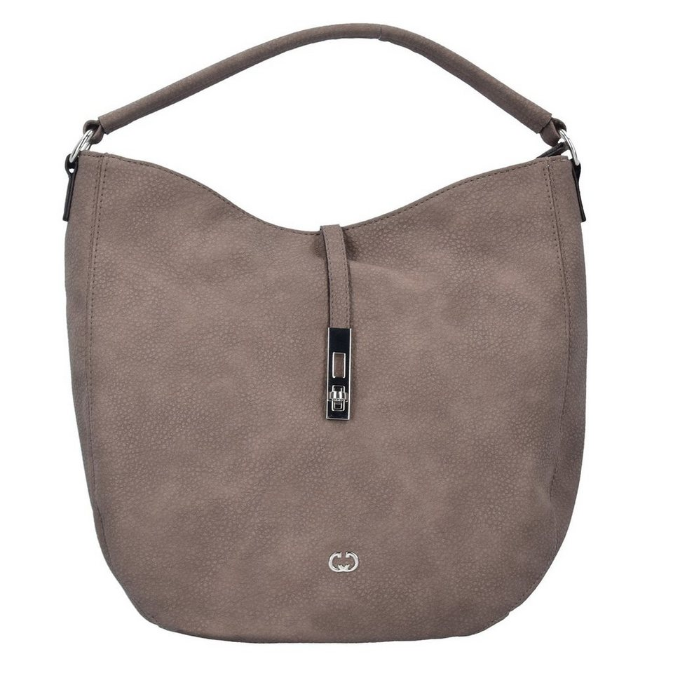 Gerry Weber Side by side Schultertasche 36 cm in taupe