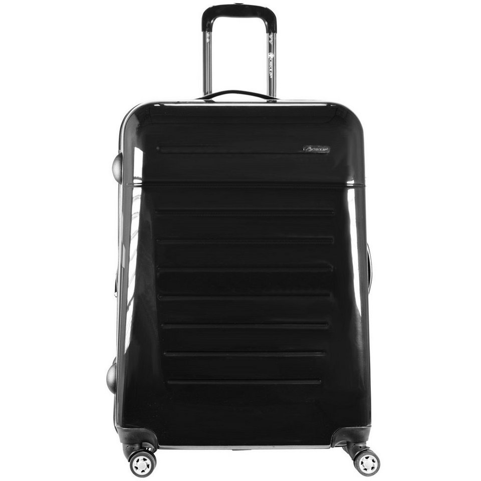 CHECK.IN Toronto 4-Rollen Trolley 66 cm in schwarz