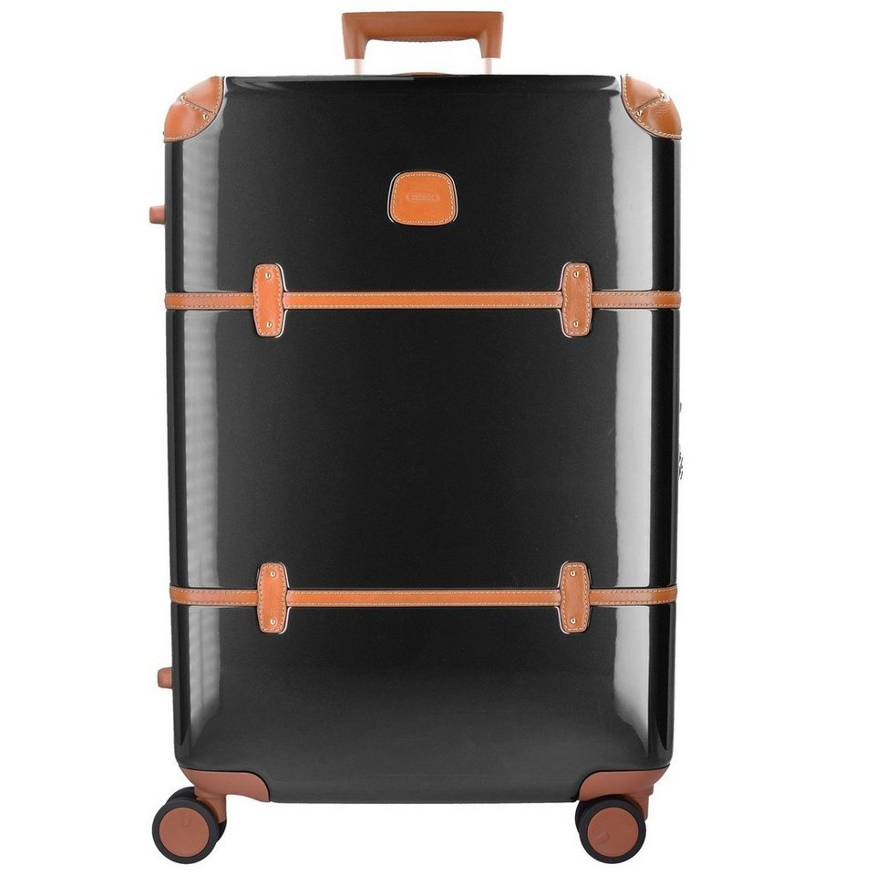 Bric's Bellagio 4-Rollen Trolley 82 cm in black/brown