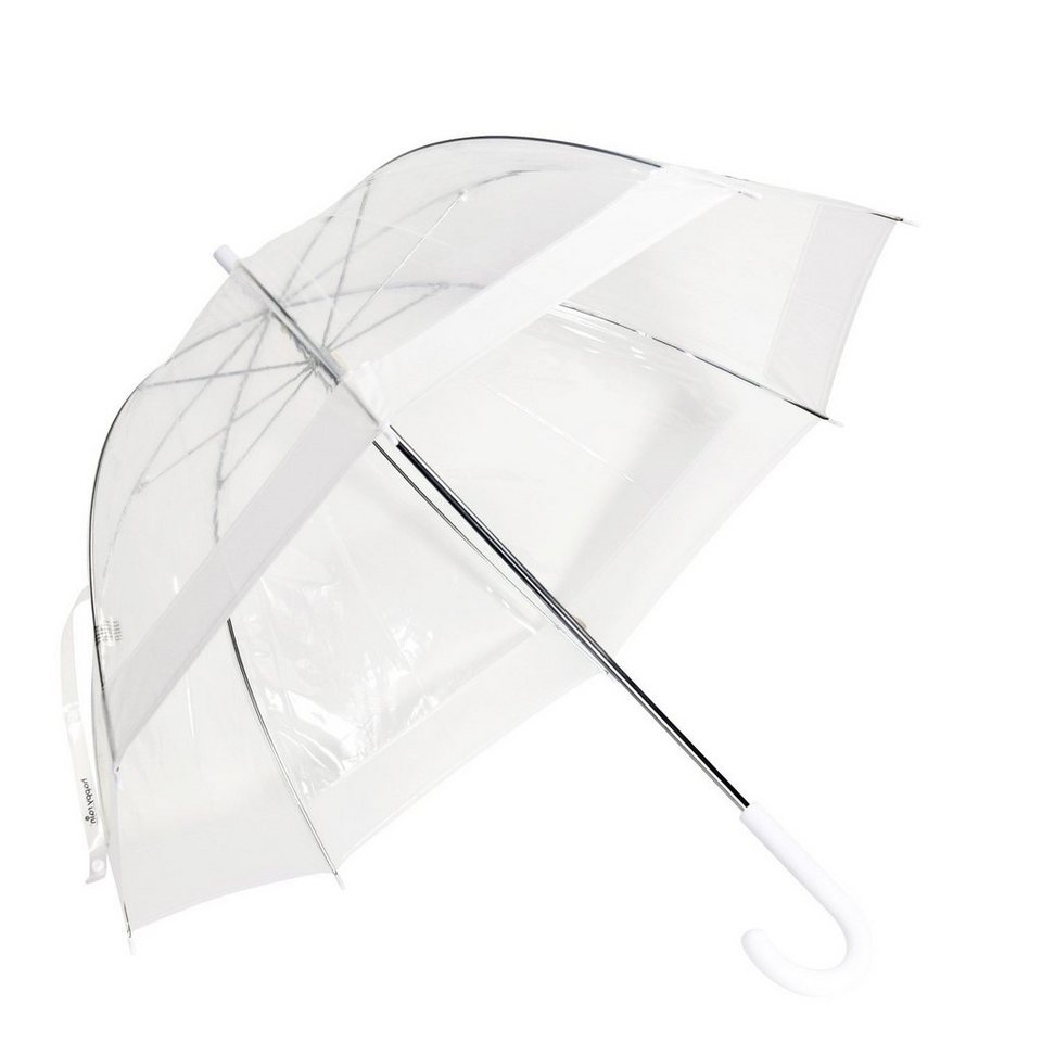 Happy Rain Happy Rain Essentials Stockschirm 84 cm in white