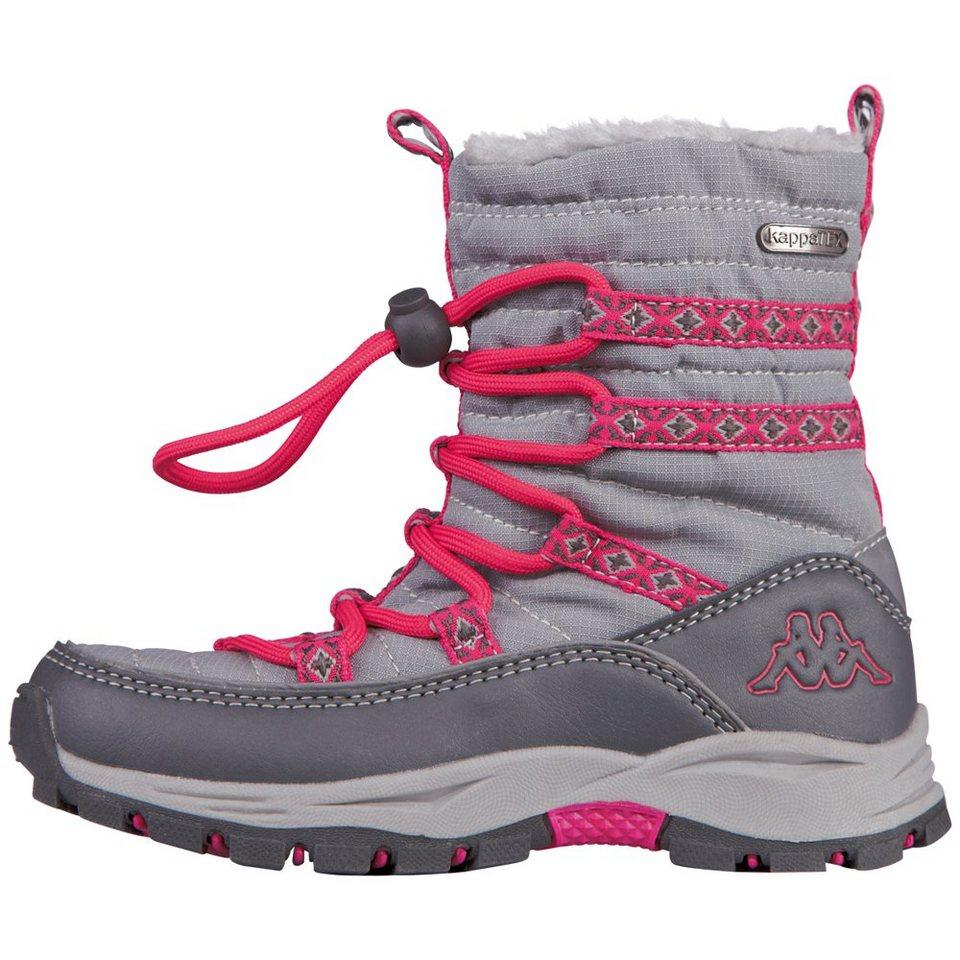 KAPPA Stiefel »FARVEL TEX KIDS« in grey/pink