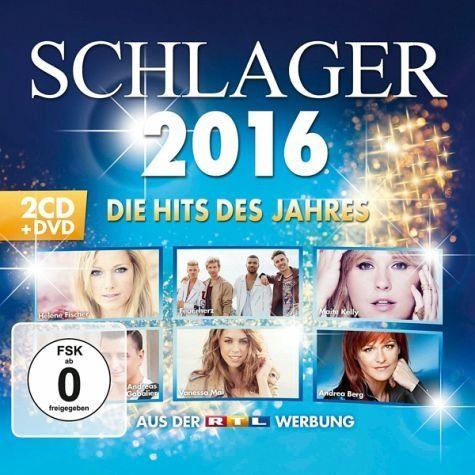 Audio CD »Various: Schlager 2016-Die Hits Des Jahres«