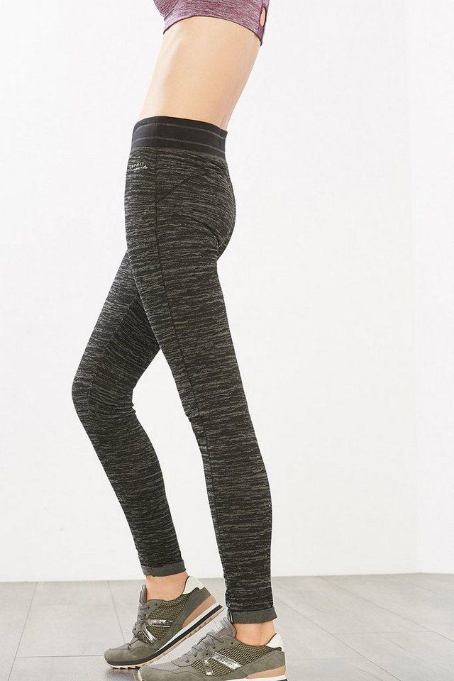 ESPRIT Jersey Sport Pants aus Baumwoll-Stretch in DARK GREY