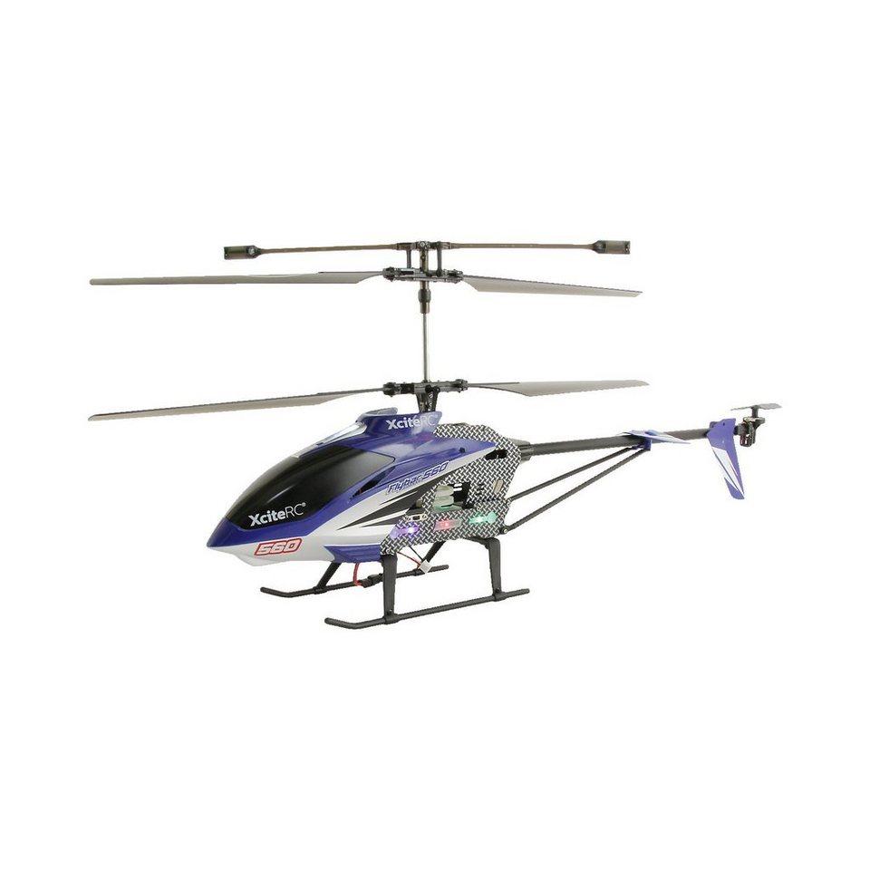 XCite RC Hubschrauber Flybar 560XXL (blau)