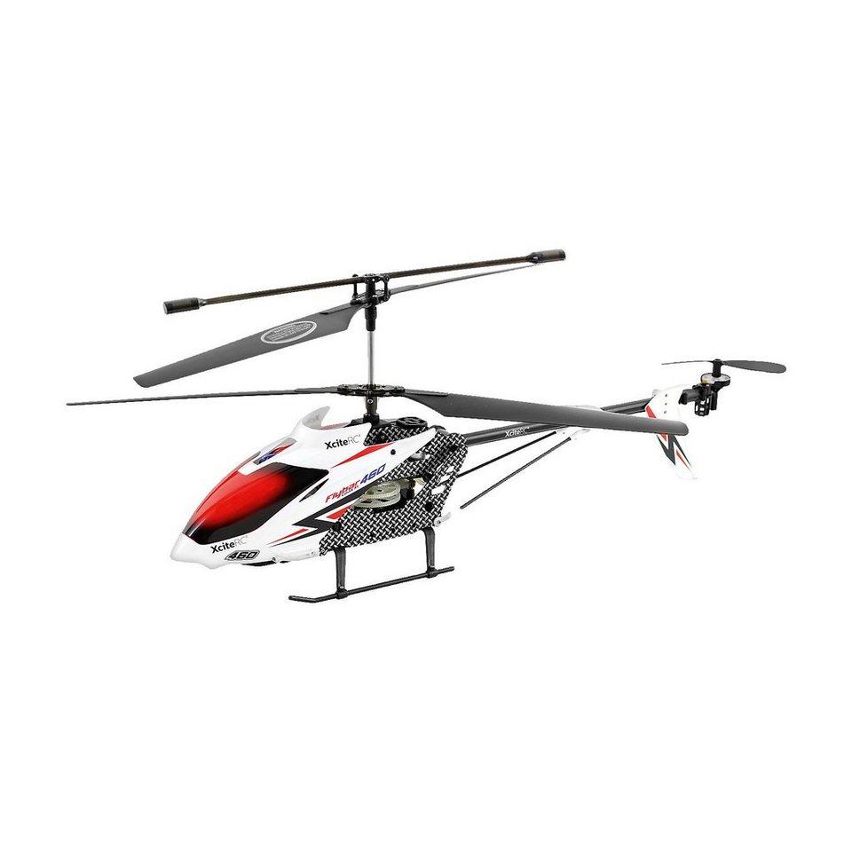 XCite RC Hubschrauber Flybar 460XL (weiß)