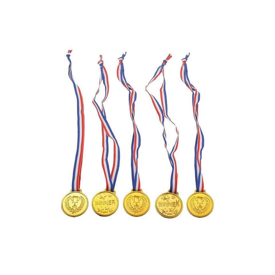 Glow2B Medaillen, 5 Stück