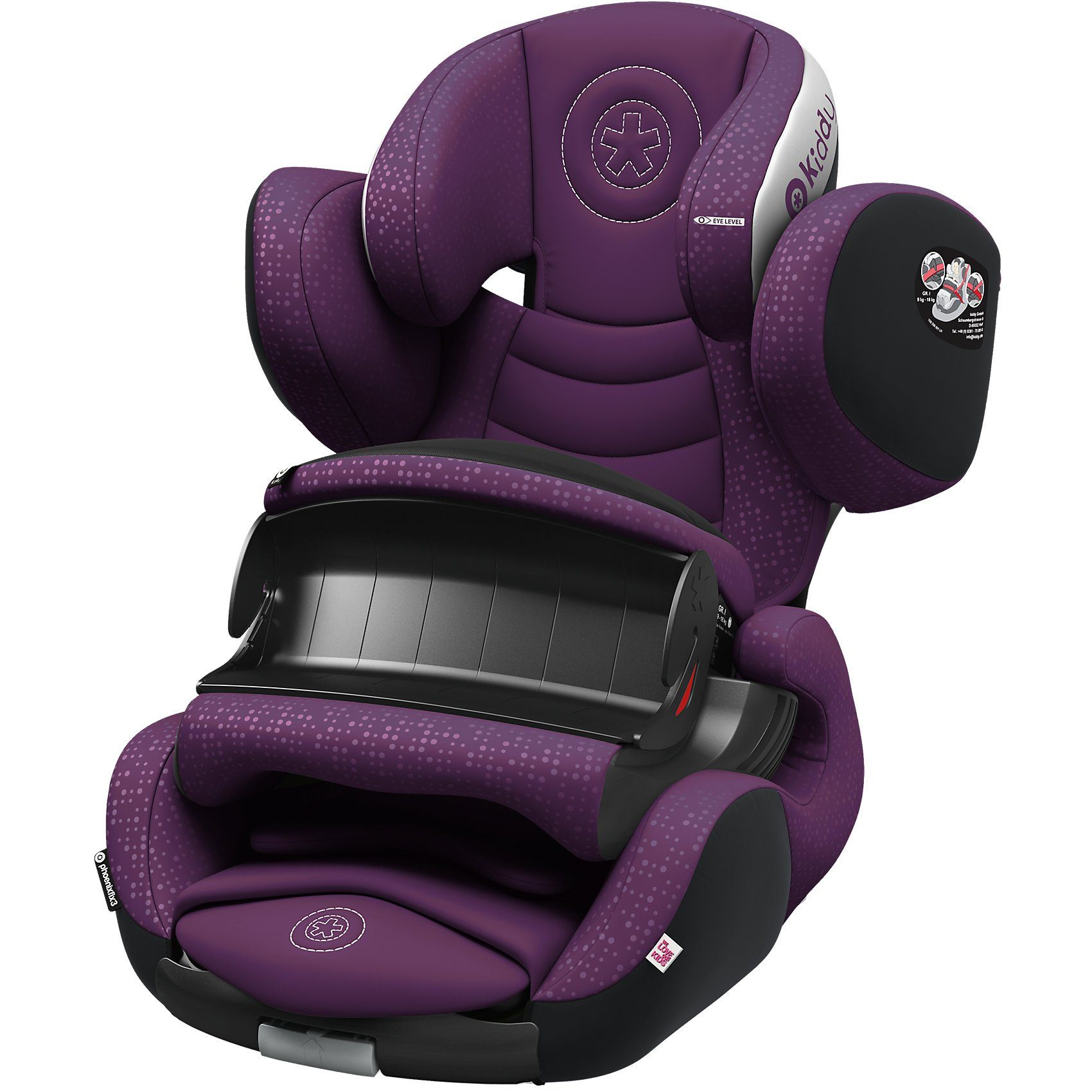 Kiddy Auto-Kindersitz Phoenixfix 3, royal purple, 2017