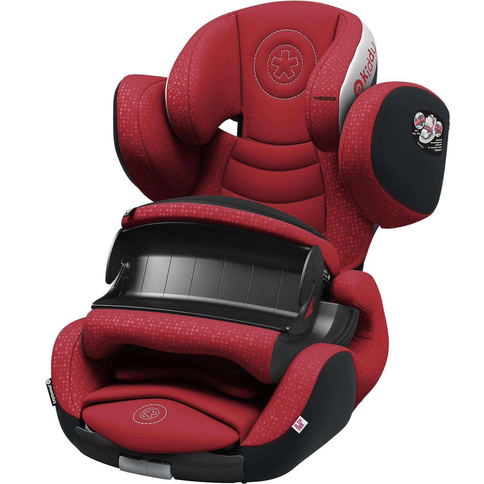 Kiddy Auto-Kindersitz Phoenixfix 3, ruby red, 2017