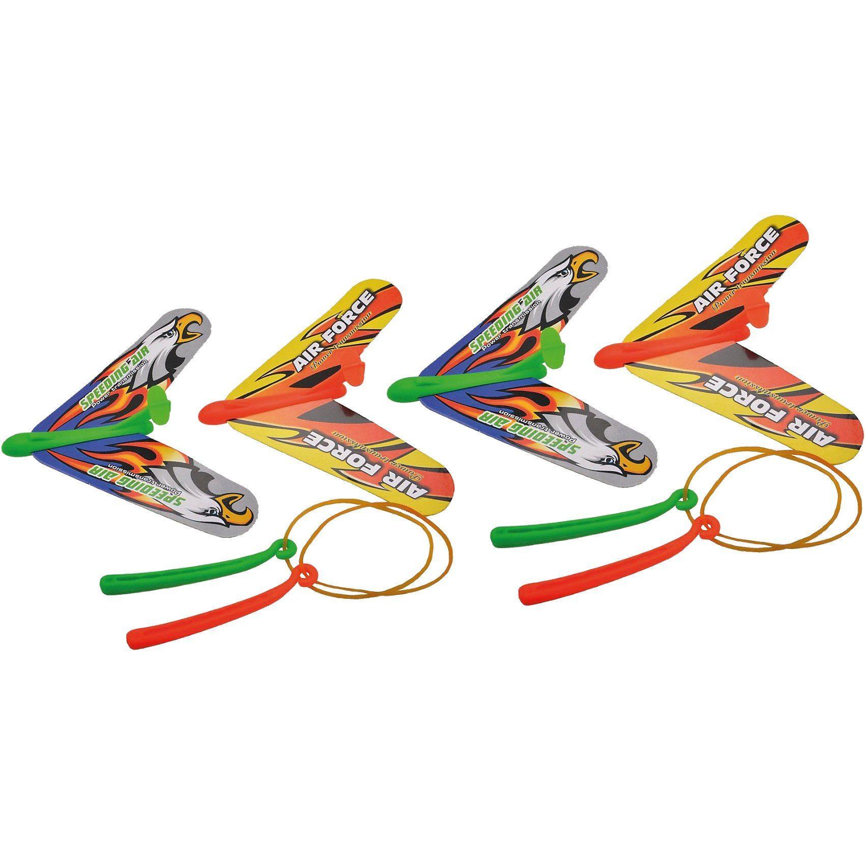 Glow2B Flugzeuge, 4 Stück