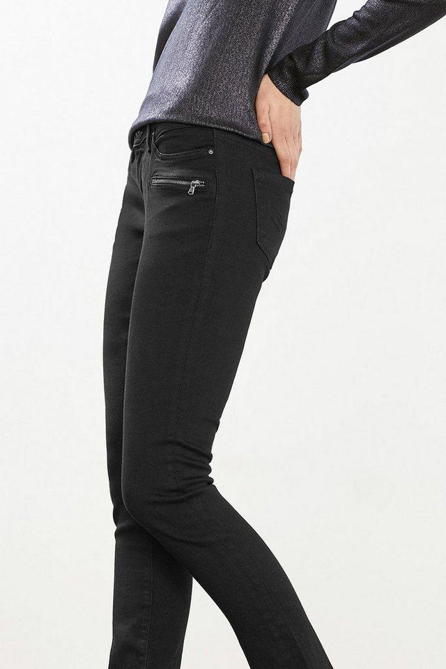 EDC Stretch-Jeans aus Premium Qualität in BLACK RINSE