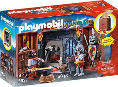 Playmobil Aufklapp-Spiel-Box »Ritterschmiede« (5637), »Knights« Sale Angebote Schwarzheide