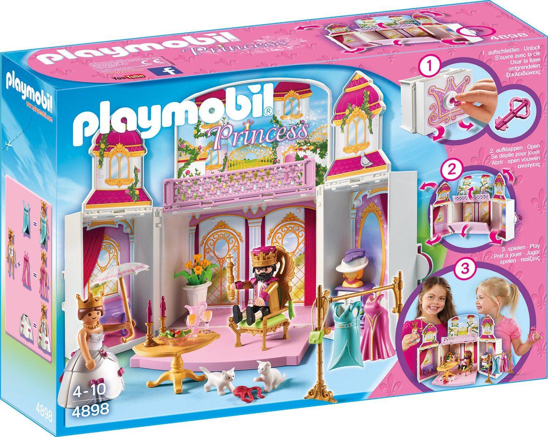 Playmobil® Aufklapp-Spiel-Box »Königsschloss« (4898), »Princess«