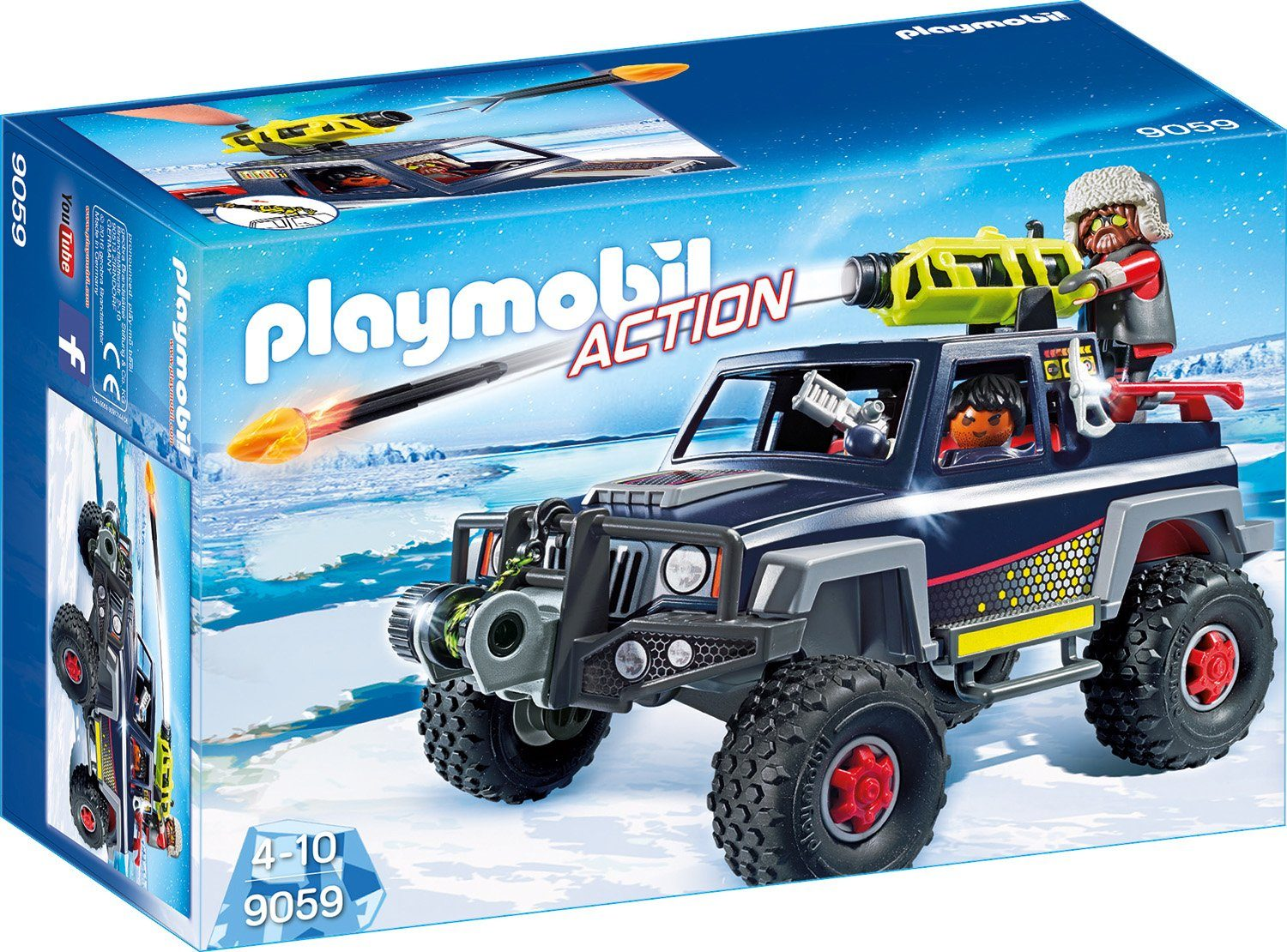 Playmobil® Eispiraten Truck (9059), »Action«
