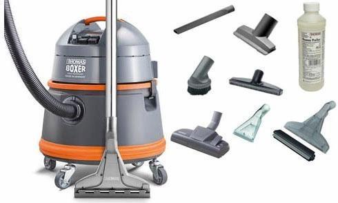 Thomas Tonnensauger BOXER, grau/orange in grau/orange