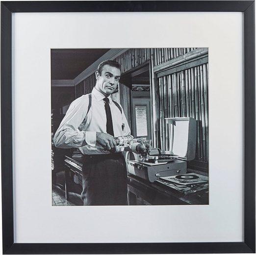 G&C Bild »Celebrities: Sean Connery«, 40/40 cm, gerahmt