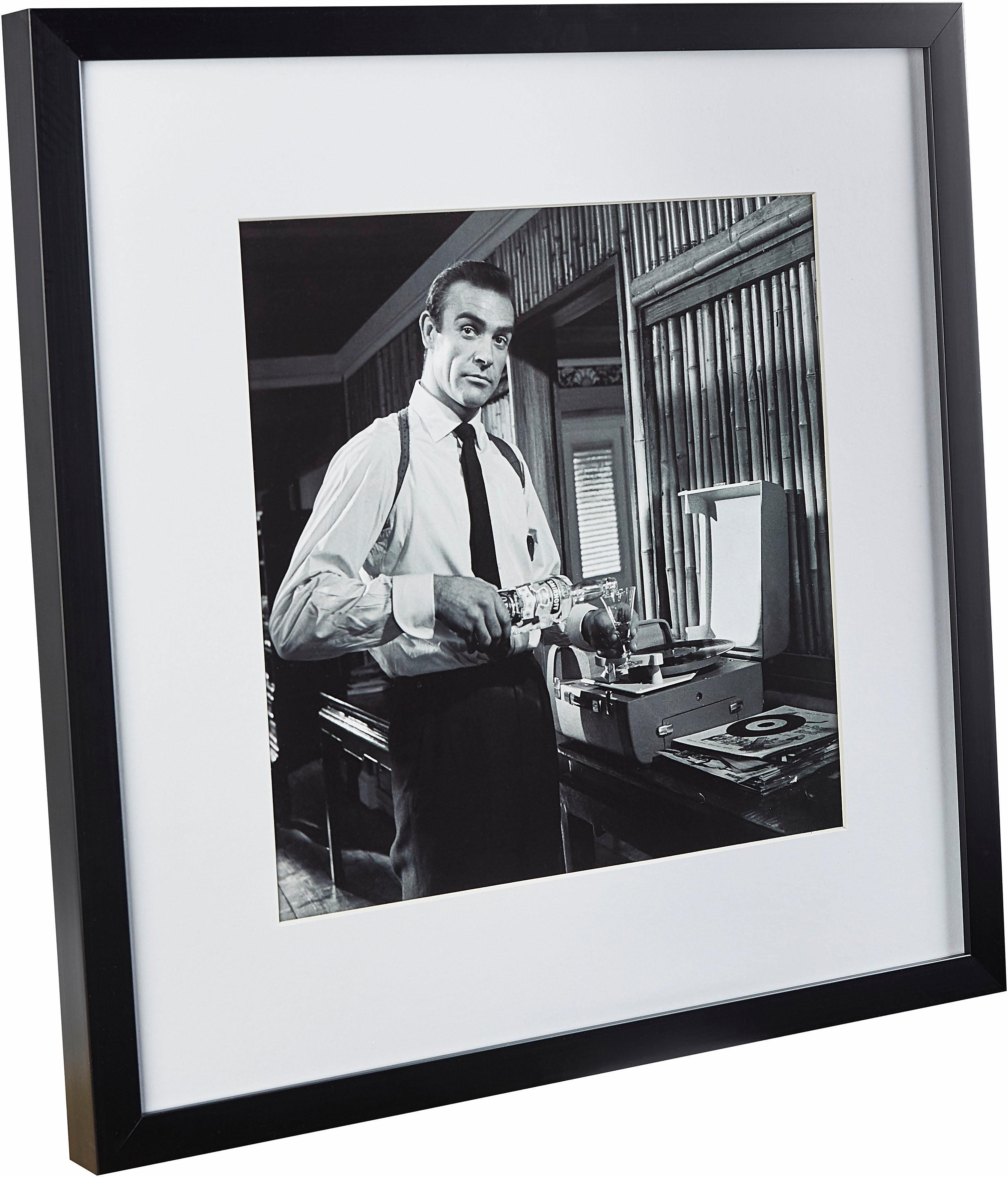 G&C gerahmte Fotografie »Celebrities: Humphrey Bogart«, 40/40 cm