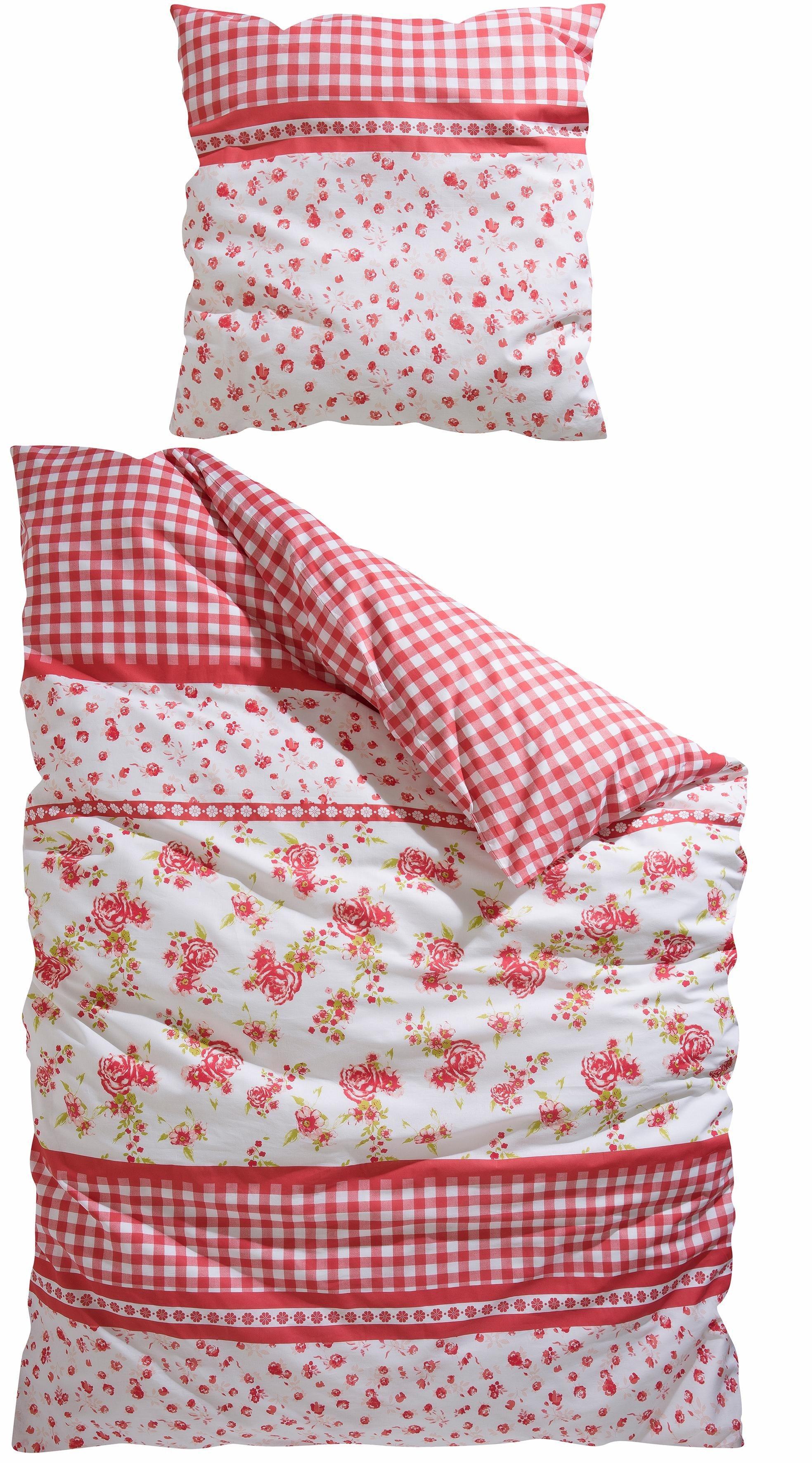 bettw sche landhausstil preisvergleich die besten angebote online kaufen. Black Bedroom Furniture Sets. Home Design Ideas