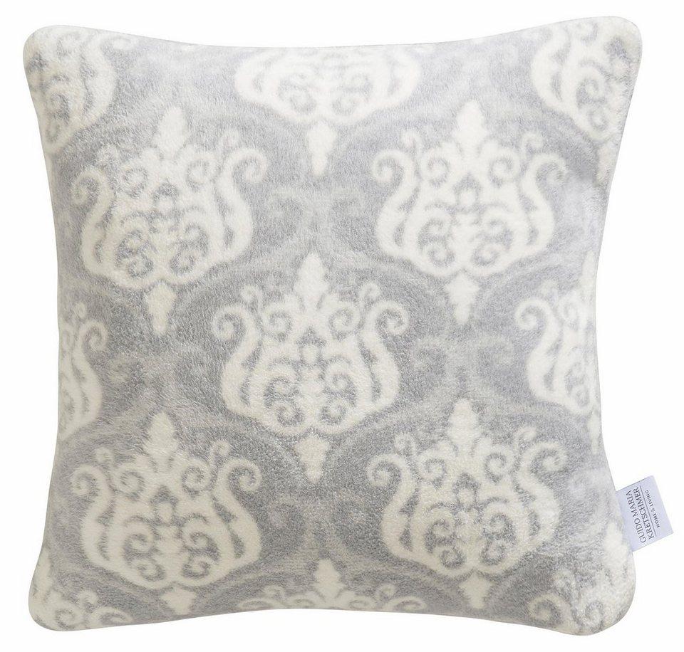 Kissenbezug, GMK Home & Living, »Blossom«, mit edlen Ornamenten in weiß-grau