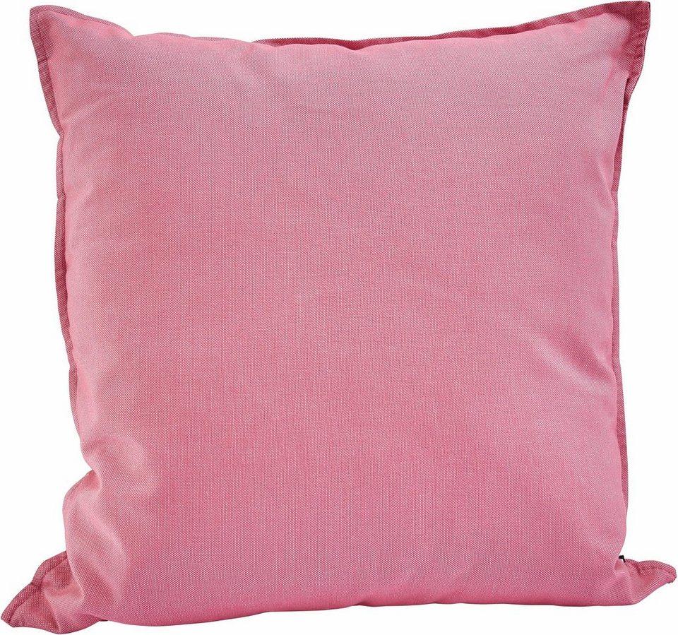 Outdoor-Kissen Hock, »Caribe« 50/50 cm in pink