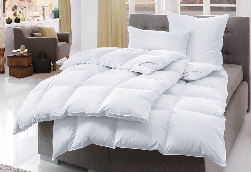 bettdeckenset h ussling swiss royal extrawarm 90 daunen. Black Bedroom Furniture Sets. Home Design Ideas