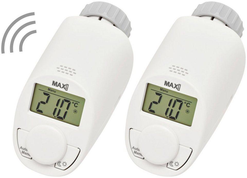 MAX! Heizkörperthermostat »Erweiterungsset basic«, 2 Stück in weiß