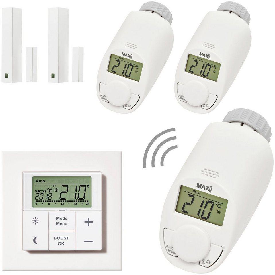 Smart Home Set »Raumlösung Premium«, 6-tlg. in weiß