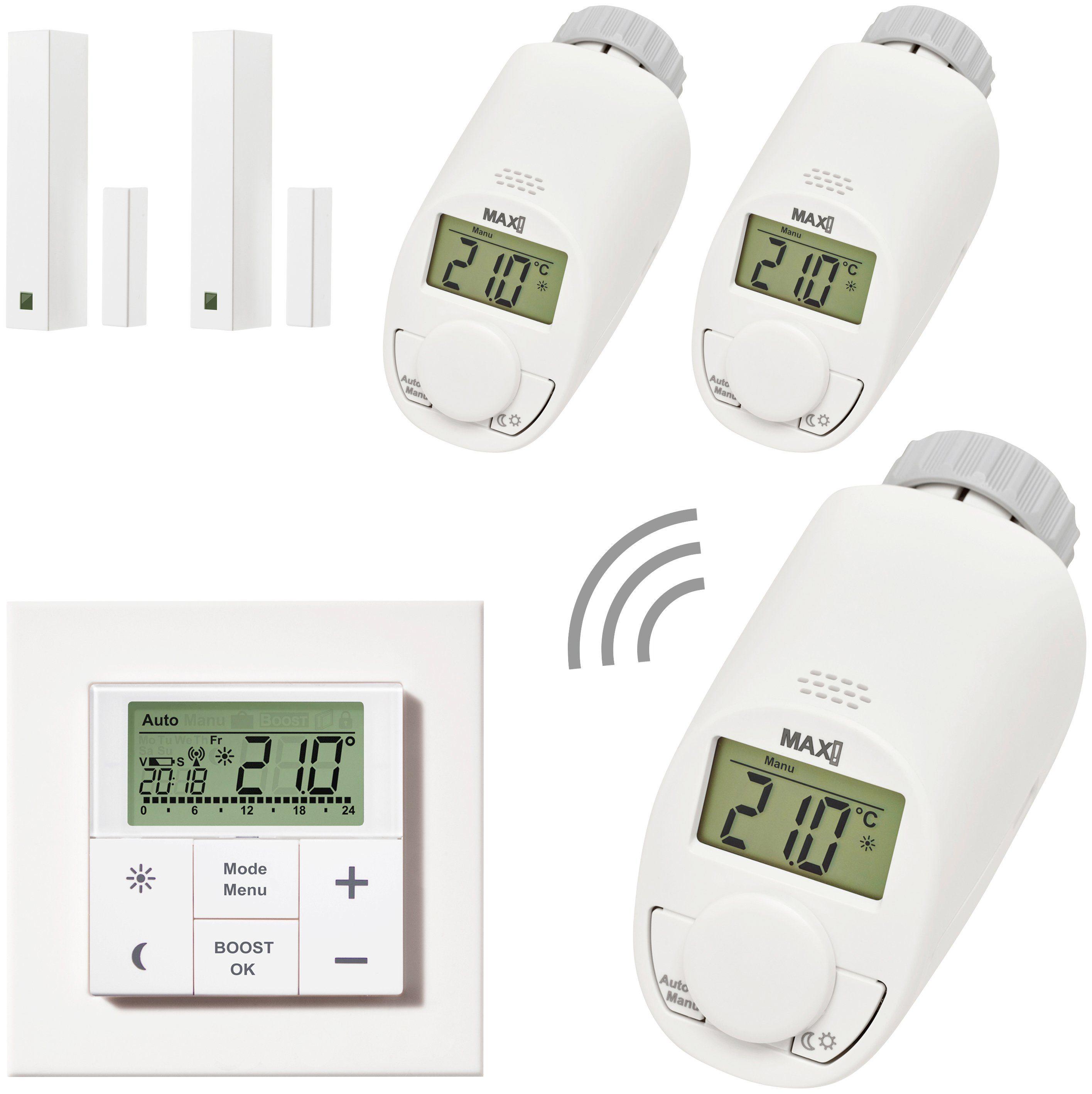 MAX! Smart Home Set »Raumlösung Premium«, 6-tlg.