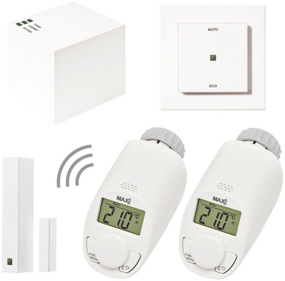 Smart Home Set »Hauslösung Eco Comfort«, 5-tlg. in weiß