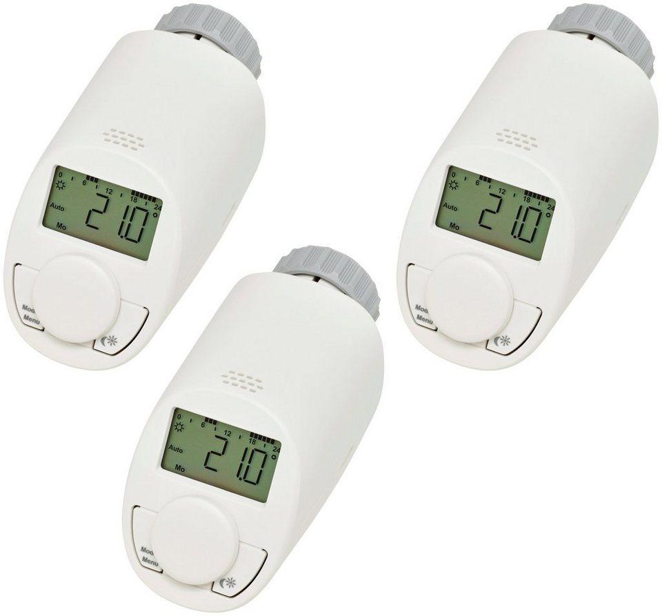 Sparset: Heizkörperthermostat »Model N«, 3 Stück in weiß