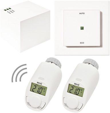 MAX! Smart Home Set »Hauslösung Eco«, 4-tlg., Heizkörperthermostat / Gateway / Eco-Taster