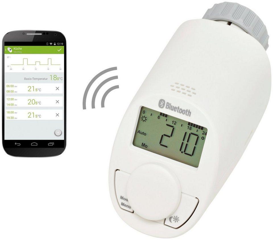 EQIVA Heizkörperthermostat »Bluetooth Smart Home« in weiß