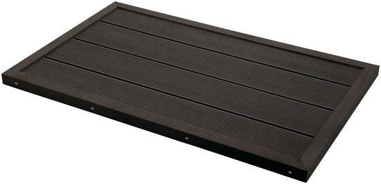 STEINBACH Bodenplatte für Leitern und Solarduschen, B/T/H: 101/63/5,5 cm