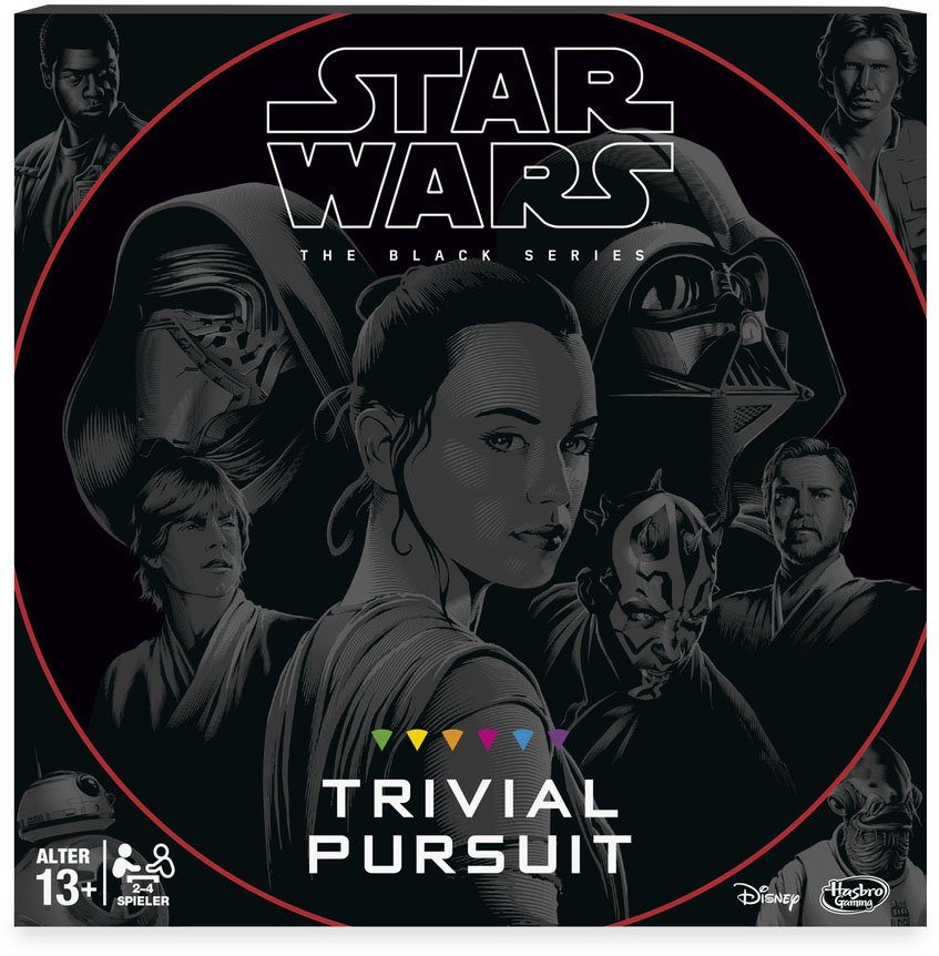 Hasbro Familienspiel, »Star Wars Trivial Pursuit«