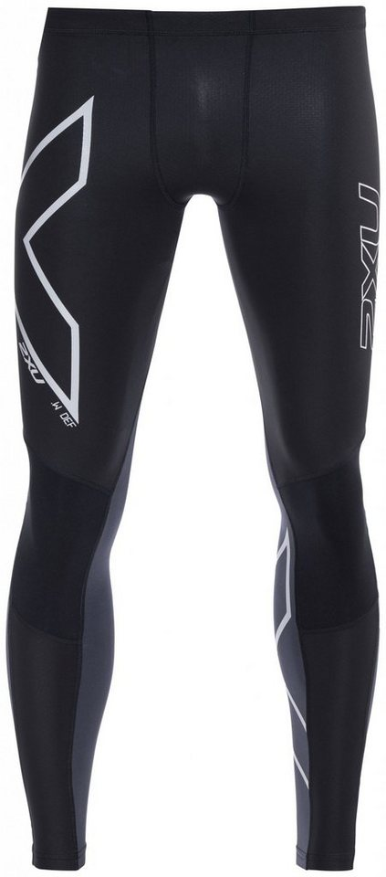 2XU Laufhose »G2 Wind Defence Thermal Compression Tights Men« in schwarz