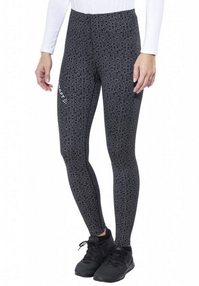 Craft Jogginghose »Mind Reflective Tights Women« in schwarz