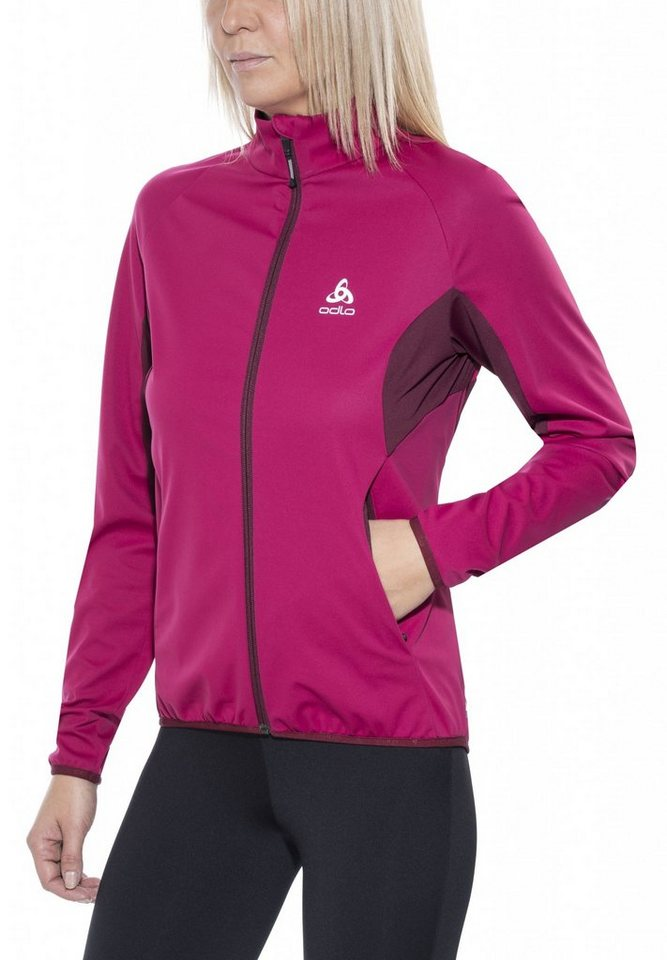 Odlo Trainingsjacke »Stryn Softshell Jacket Women« in lila