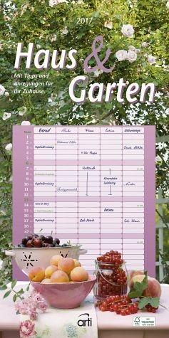 Kalender »Haus und Garten Familienkalender 2017«