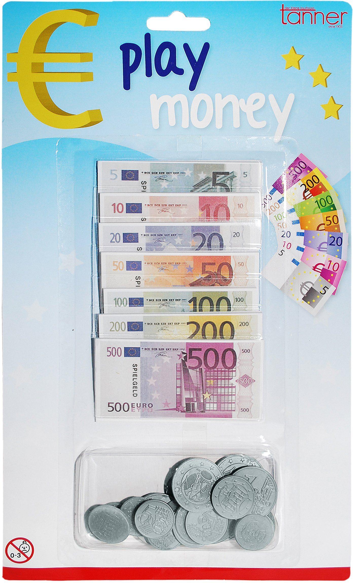 Tanner Spielgeld Kaufladenzubehör, »Euro Geld«