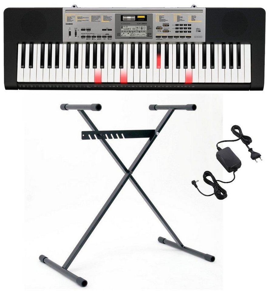 Casio® Keyboard mit Leuchttasten und Stand, »LK260 Set«