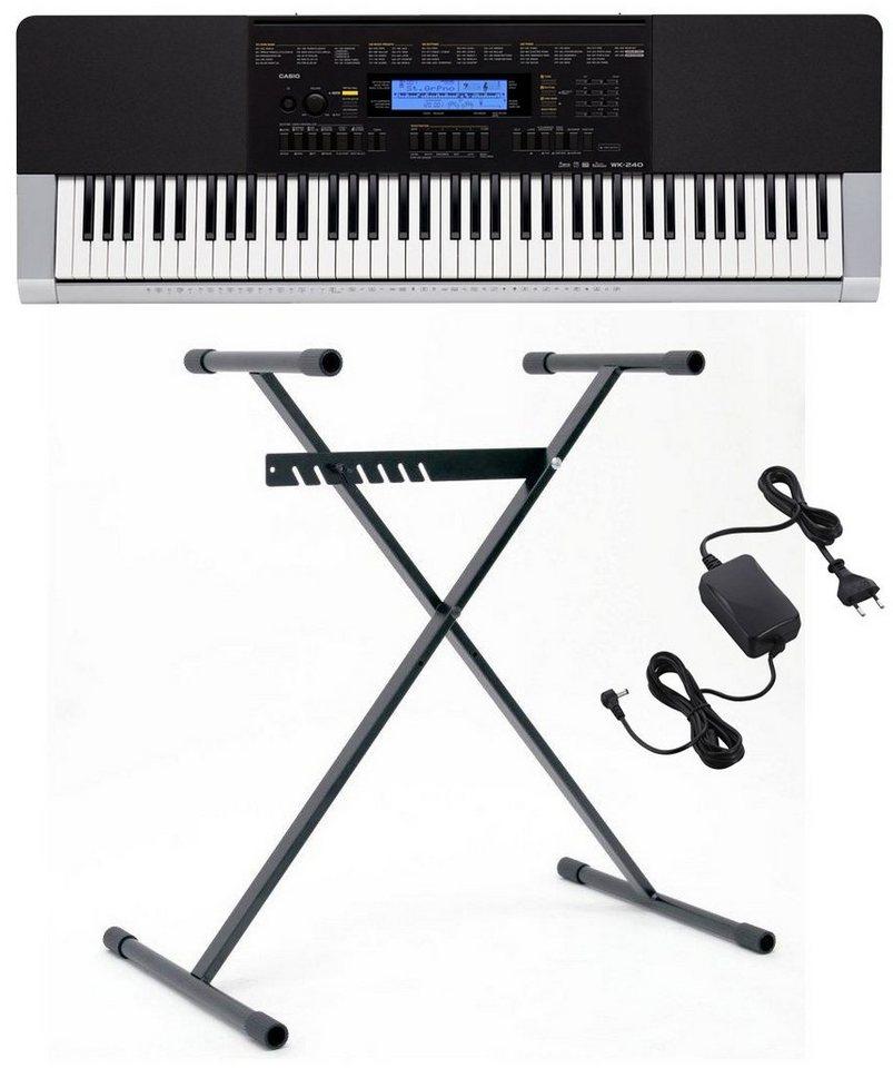 Casio® Keyboard mit Stand, »WK 240 Set«