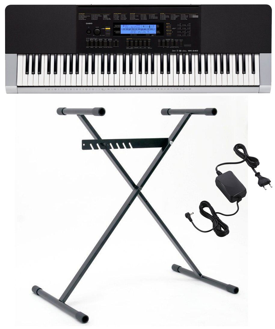 Casio® Keyboard mit Stand, »WK 240 Set«