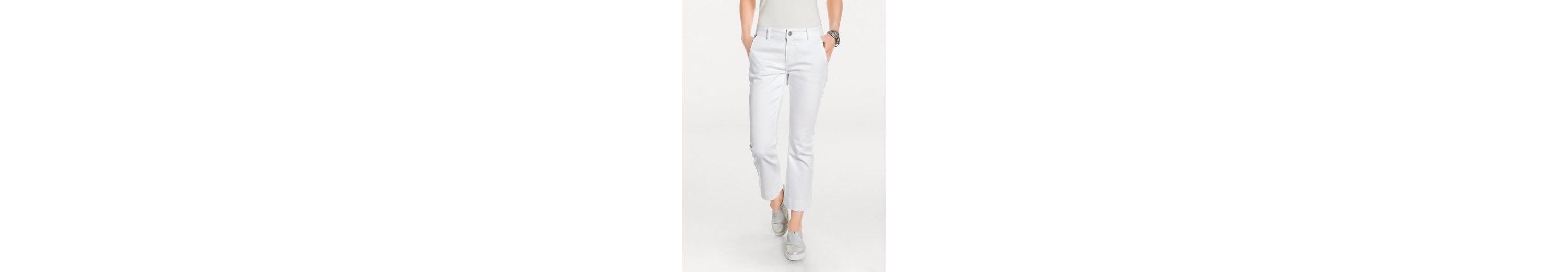 B.C. BEST CONNECTIONS by Heine Flared-Jeans verkürzte Form Werksverkauf Versandrabatt Authentisch uJOk7Qxid