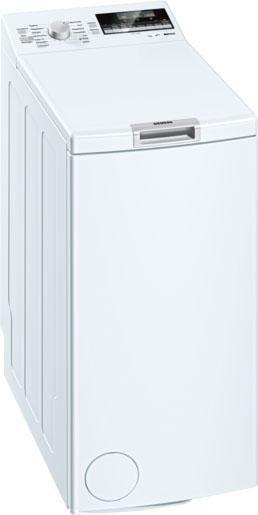 SIEMENS Waschmaschine Toplader iQ500 WP12T447, A+++, 7 kg, 1100 U/Min